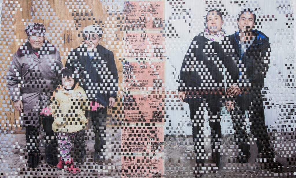 This image has an empty alt attribute; its file name is Tami-Peasantography-Family-portrait-woven-lpaper-digital-print-laminated-cut-1024x614.jpg
